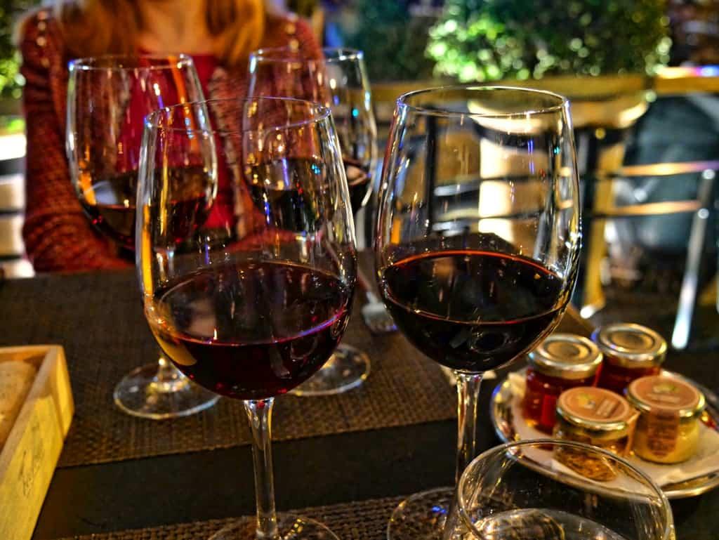 Beef Bar wine