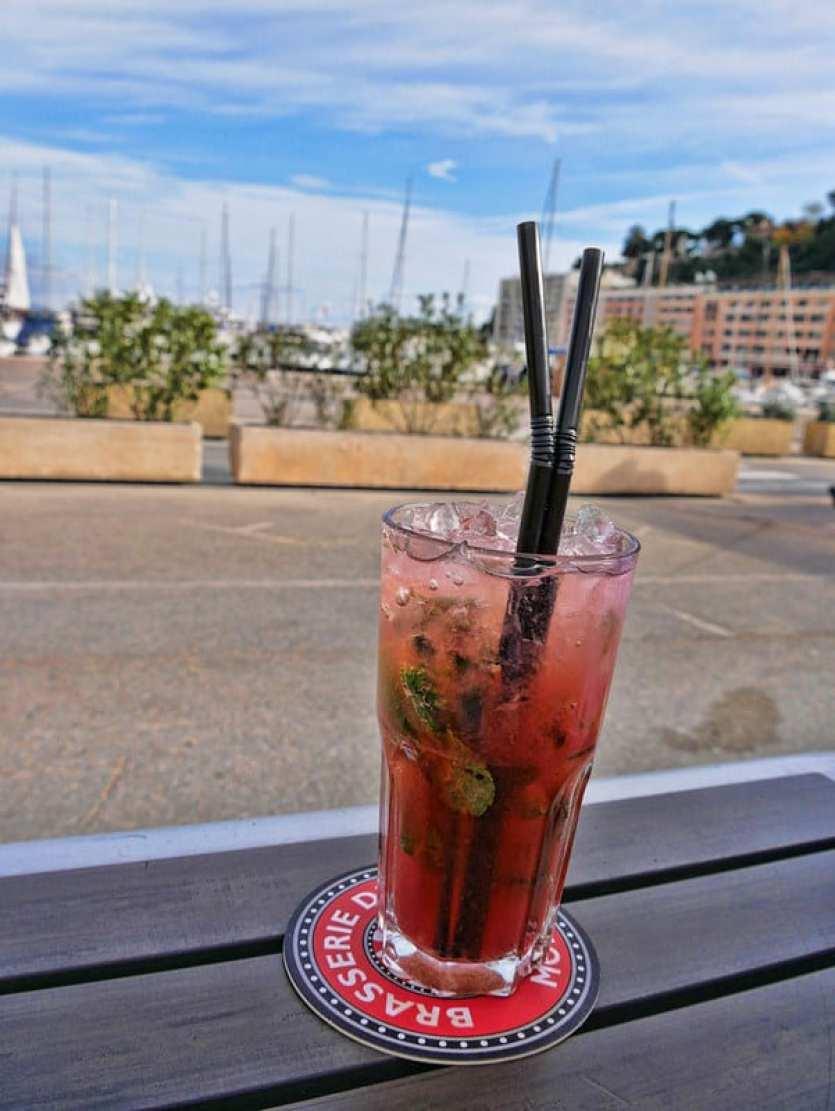 Brasserie de Monaco cocktail