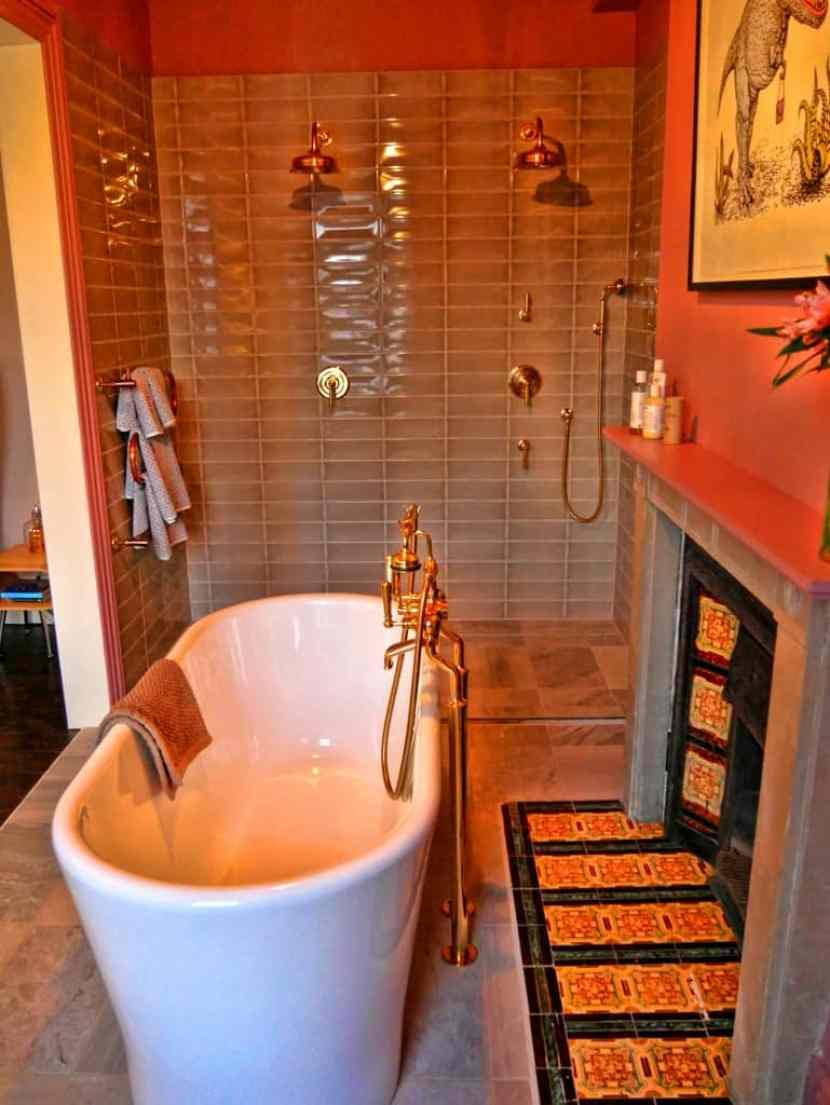 Shepherd's rolltop bath