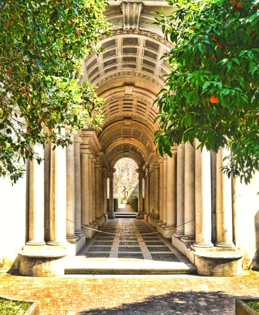 The Luxury Columnist - Rome Borromini's Perspective - 10 Top Trips for Travel Companions