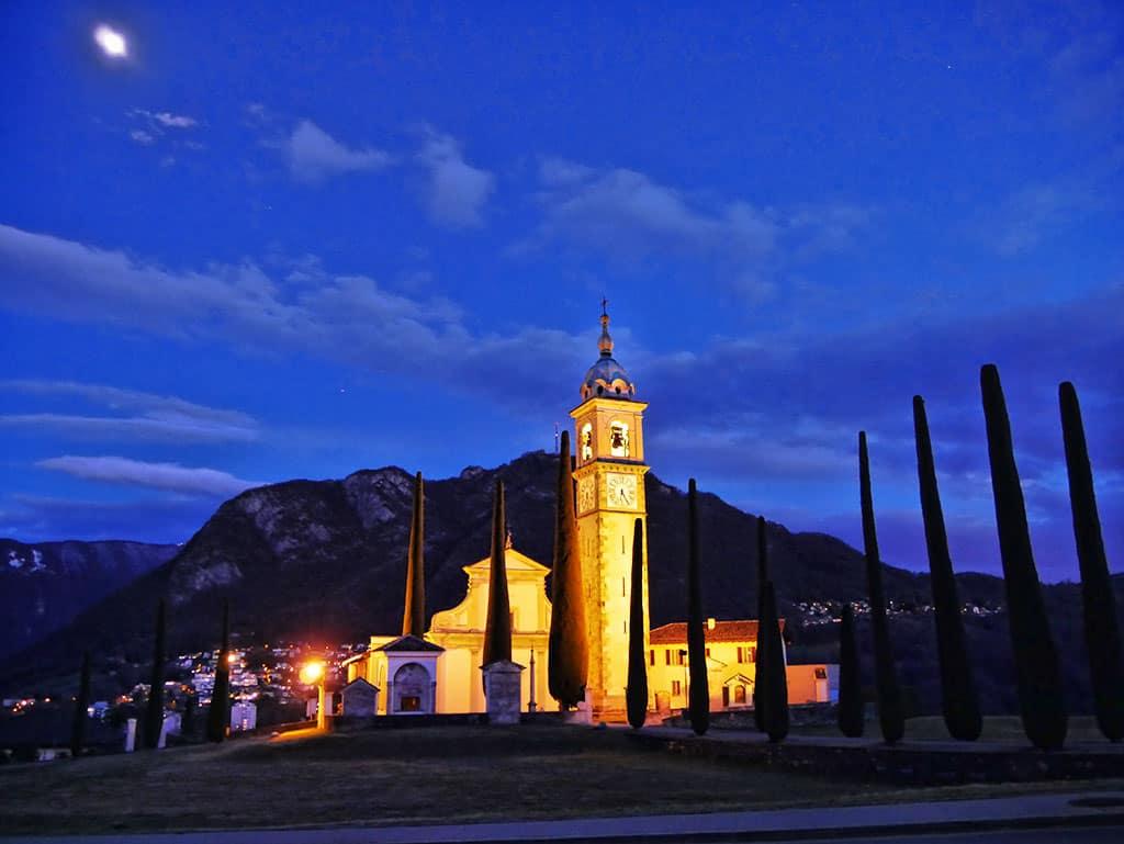 Lugano-church-night