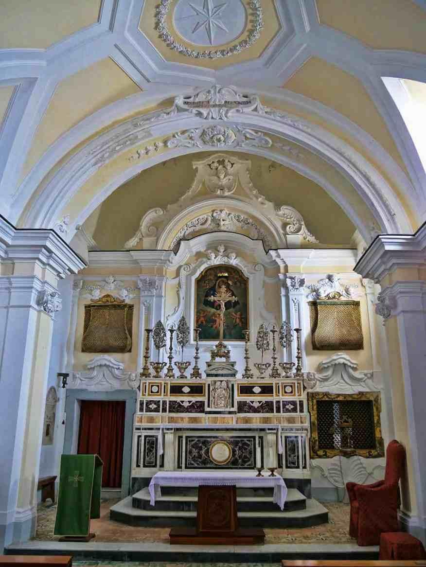 Monastero Amalfi chapel
