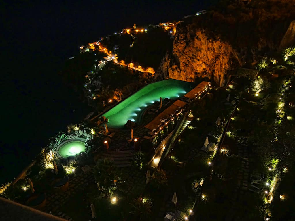 Monastero Amalfi night