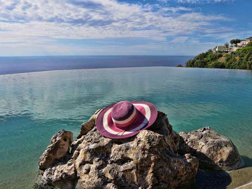 Monastero Santa Rosa infinity pool Luxury Columnist