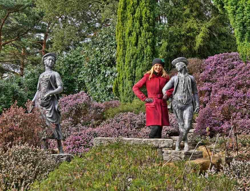 heather-garden-statues-compton-acres