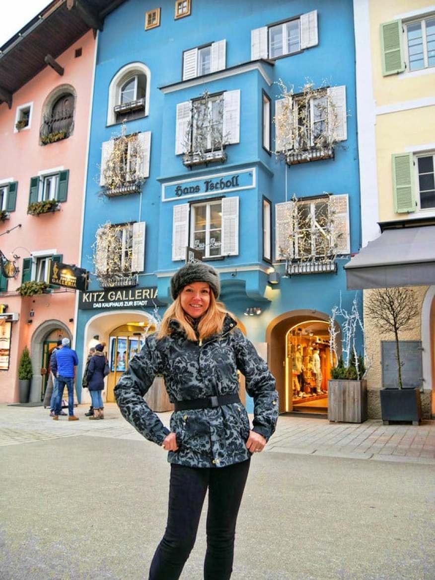 The picturesque village of Kitzbuehel in the Tirol region of Austria