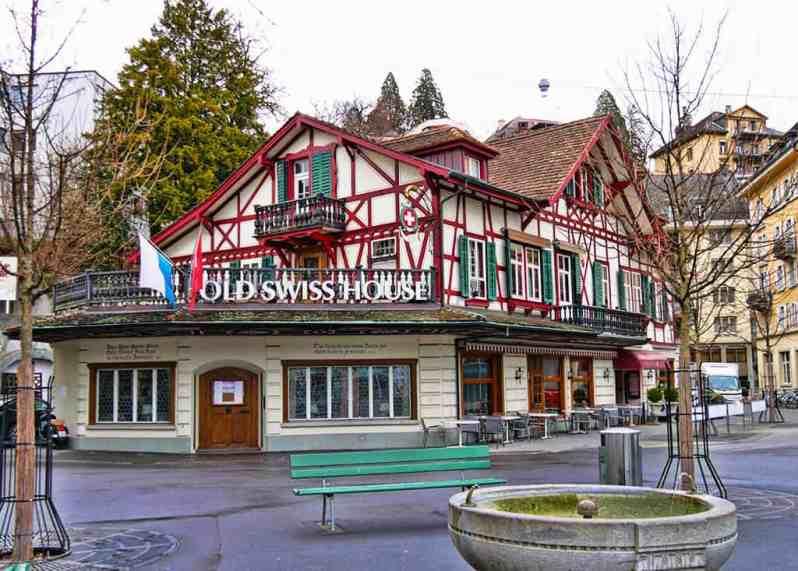 Old Swiss House Luzern