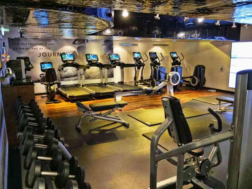 Marriott Grosvenor Square gym