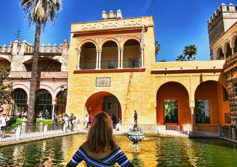 Seville Spain points of interest - the Alcazar