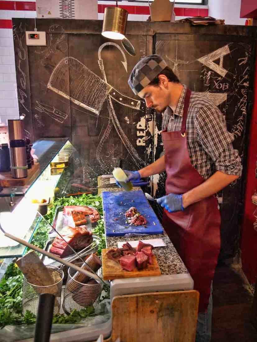 Macellaio Exmouth Market chef