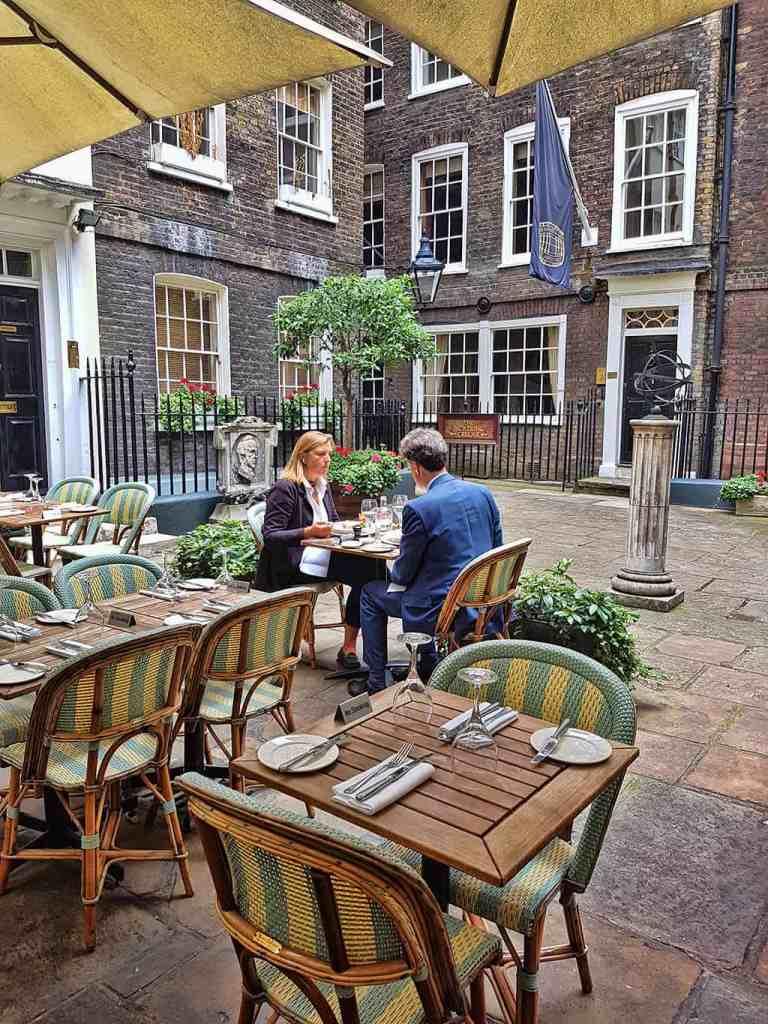 top 10 London al fresco dining - Boulestin