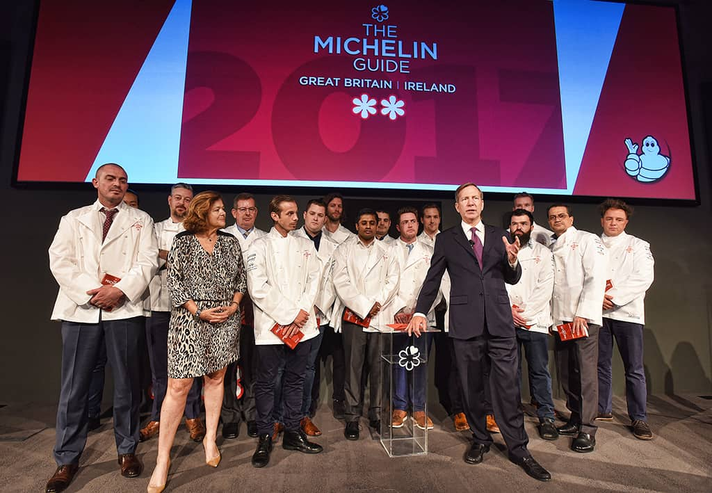 First Ever Live Launch of the Michelin Guide Great Britain & Ireland