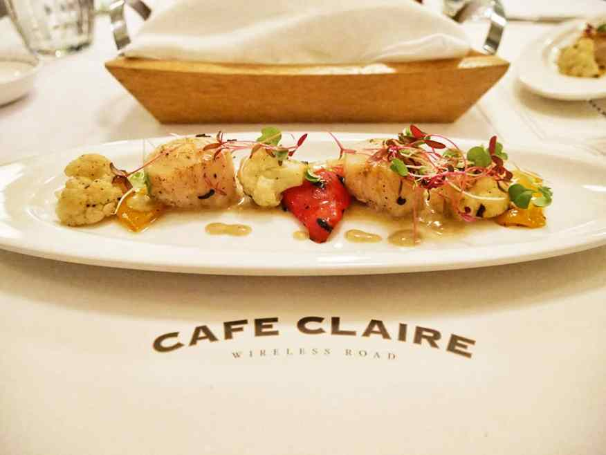Cafe Claire is a relaxed bistro within the Oriental Residence in Bangkok, Thailand