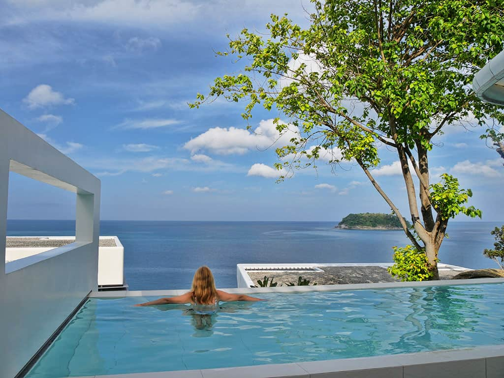 A Breathtaking Private Pool at Kata Rocks, Phuket