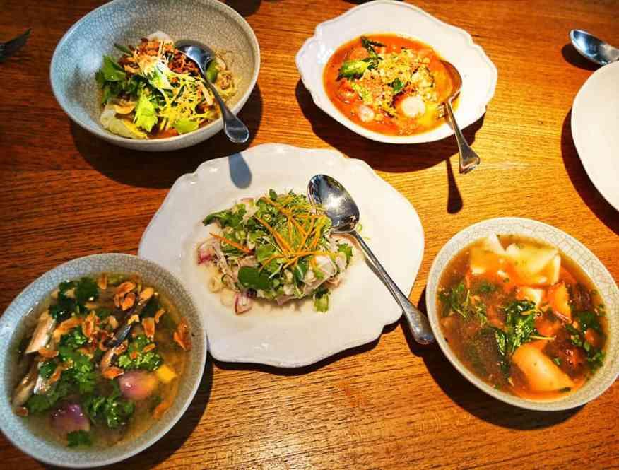 Nahm, Bangkok, Thailand - love the Michelin starred food here