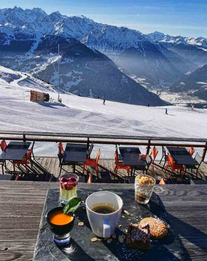 Le Mouton Noir in Verbier, Switzerland - loved lunch here and it's great for apres-ski too! - Luxury Columnist - travel, fashion and interiors blog