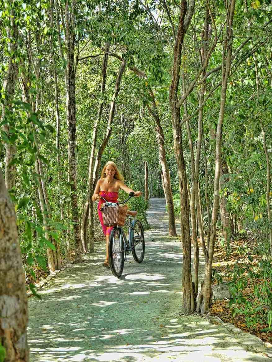 Mayakoba nature trail