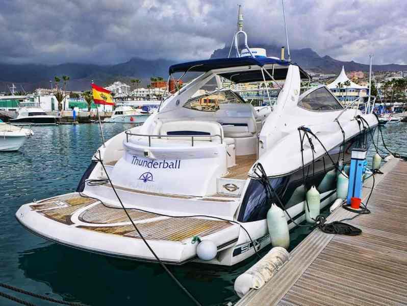 Thunderball yacht
