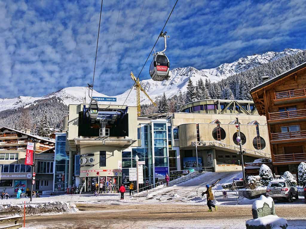 Verbier ski lift