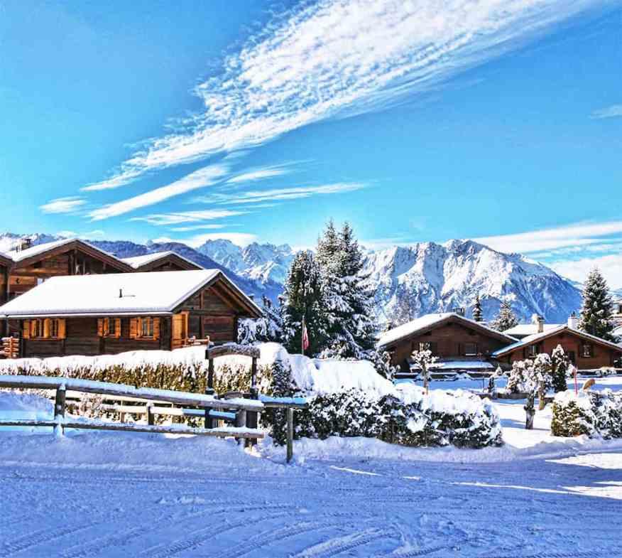 Verbier village chalet