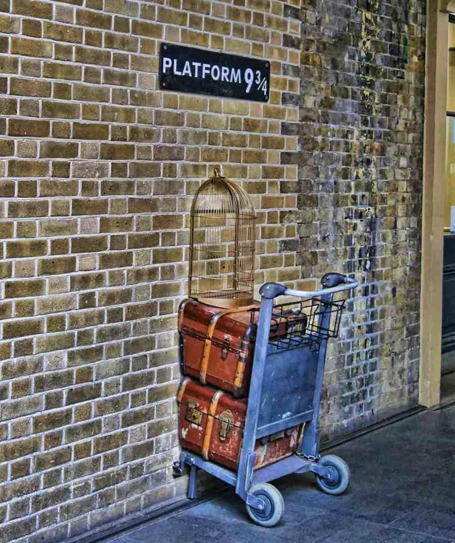 Platform 9 and 3/4 King's Cross