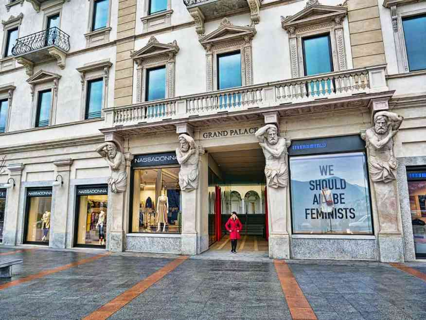 Boutique in Lugano, Switzerland