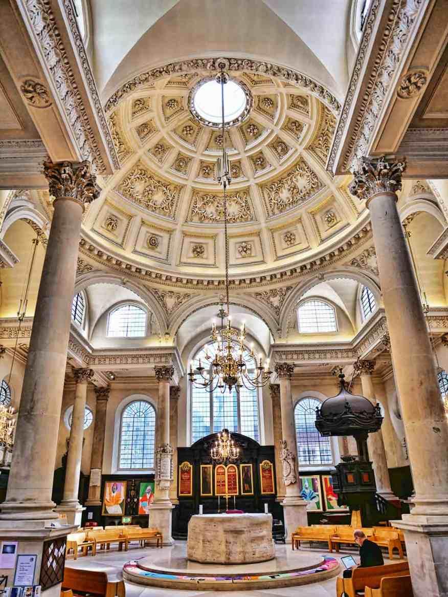 St Stephen Walbrook, London