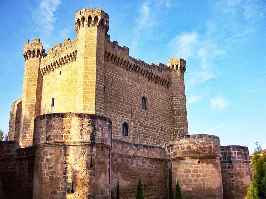 Sajazarra castle, La Rioja, Spain