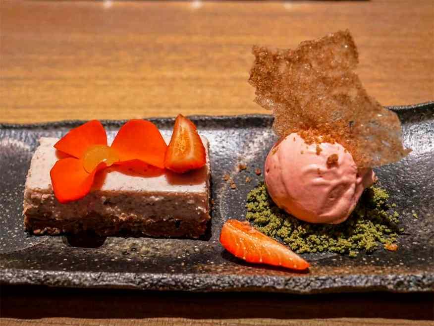 Tokimeite dessert