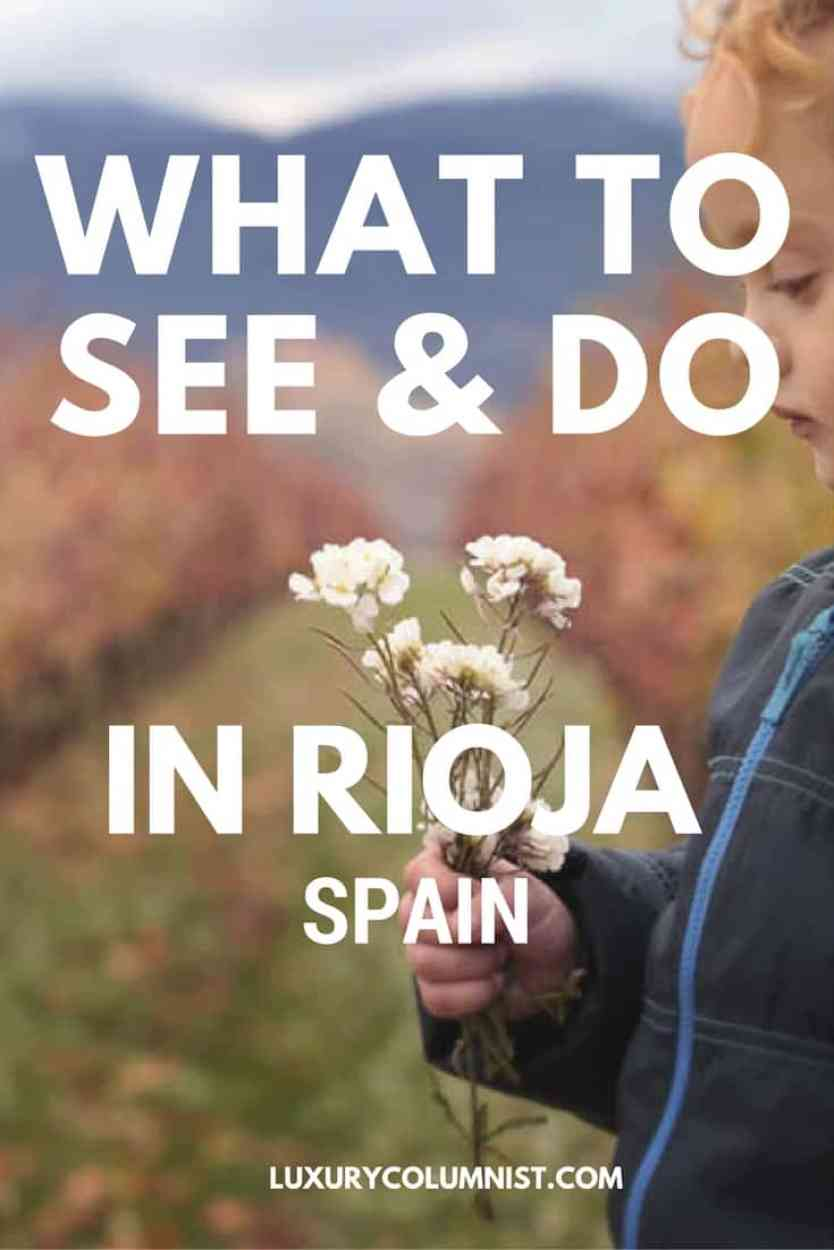 What to see and do in Rioja, Spain