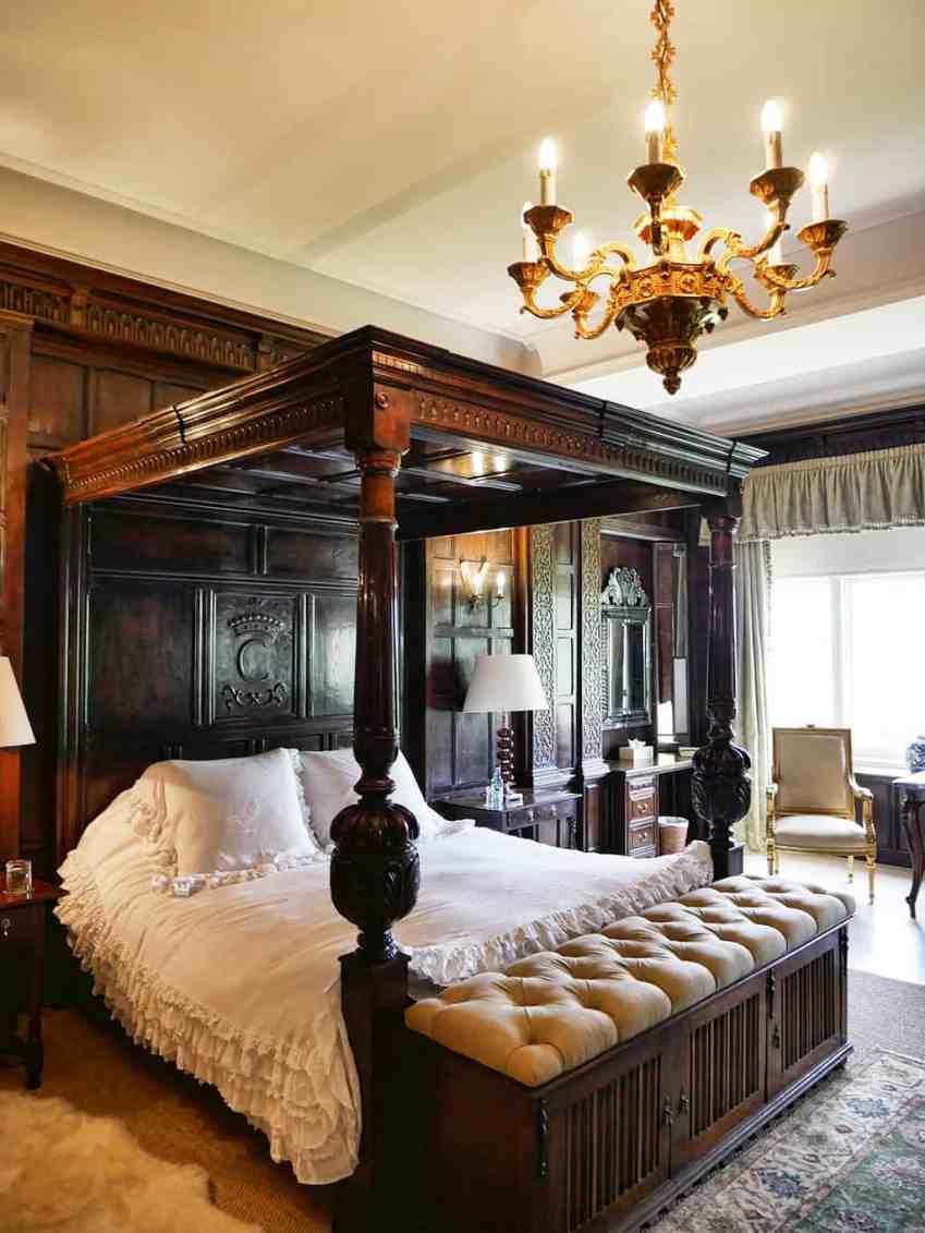 Cowdray Park bedroom, Sussex