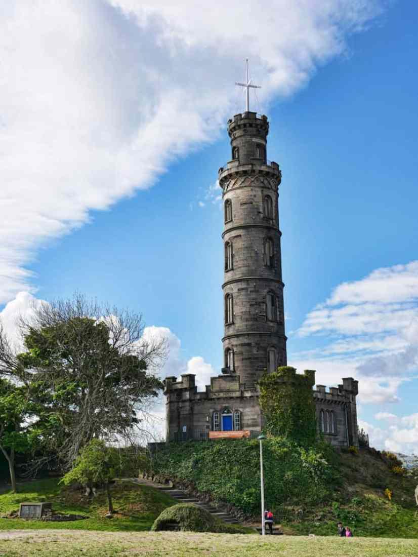 Nelson's Monument, Edinburgh, Scotland