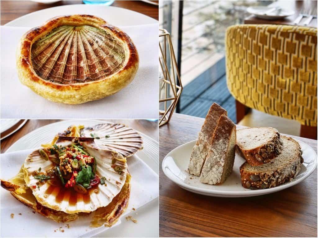 Seafood Ristorante scallops