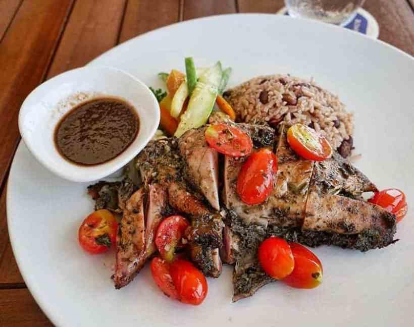 Jamaica jerk chicken - nice and spicy!