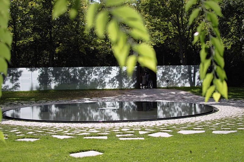 Sinti and Roma Memorial in Berlin, Germany