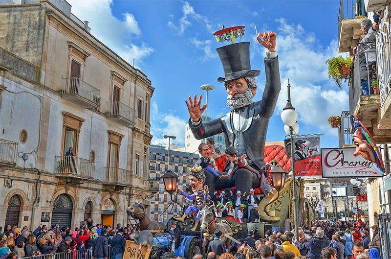 A festival in Puglia, Italy