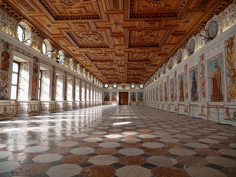 Spanish room at Schloss Ambras