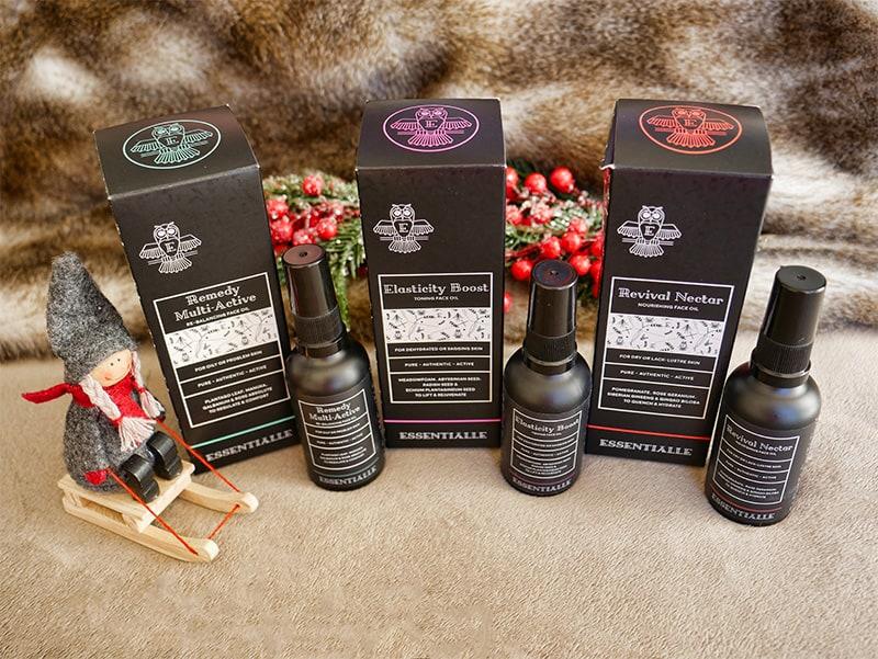 Essentialle facial oils