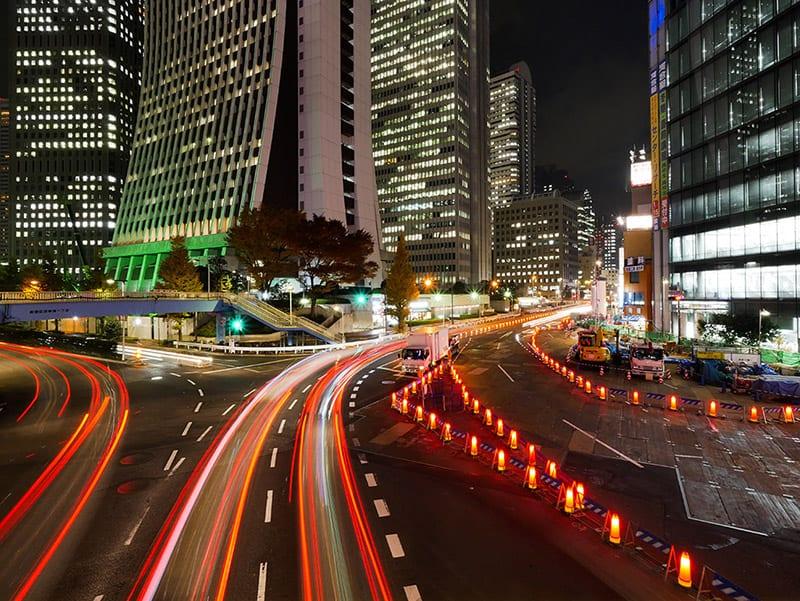 Tokyo Street Photography tour at night