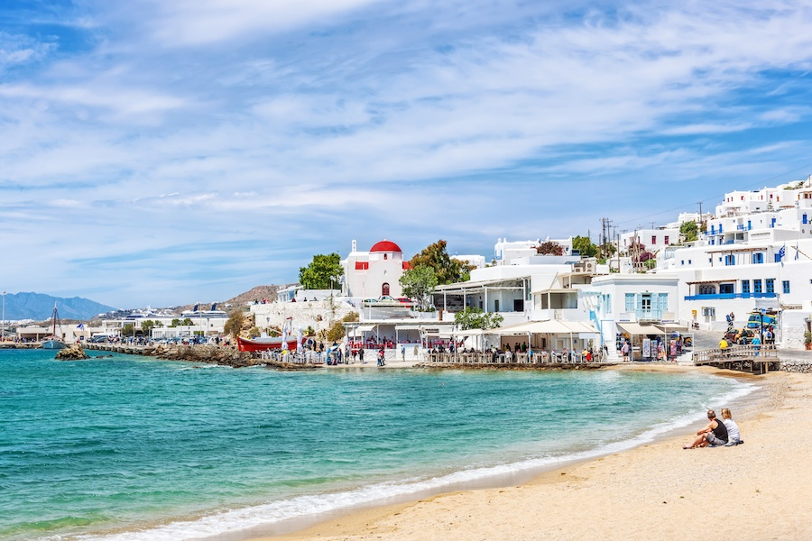 The blue waters and bright white houses that line the shores of Mykonos are synonymous with this historic island's unique brand of sophisticated relaxation.