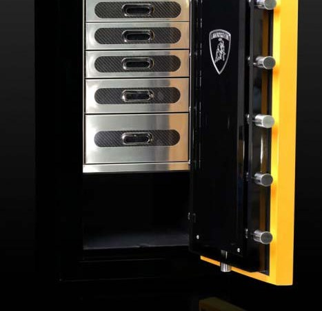 Custom Lamborghini Vault by Brown Safe
