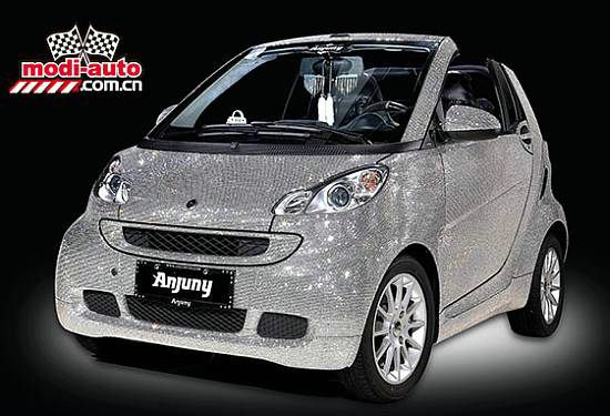 Smart Covered in Swarovski Crystals by Anjuny1