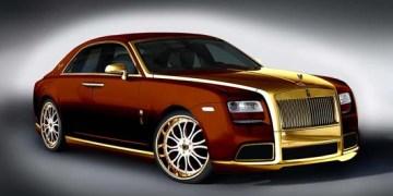 Rolls-Royce Ghost Diva Bronze