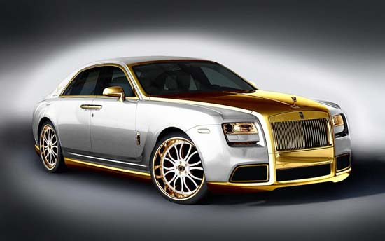 Rolls-Royce Ghost Diva White