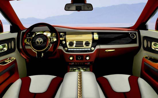 Rolls-Royce Ghost Diva interior