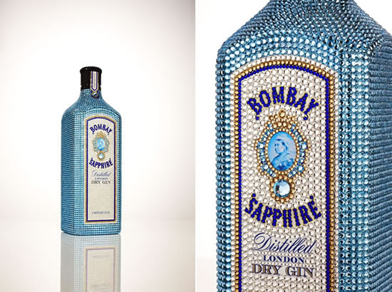 Bombay Sapphire with Swarovski crystals Exclusive in Sydney