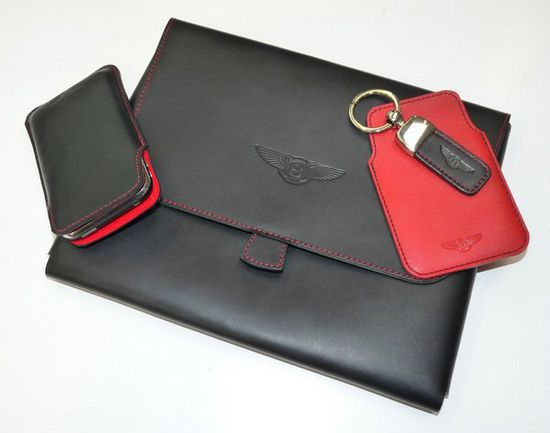 Bentley launches iPad, iPhone and Blackberry leather cases