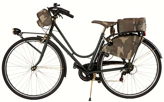 Trussardi 1911 Camouflage City Bicycle