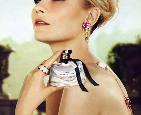 Kirsten Dunst for Bulgari Jasmin Noir Fragrance