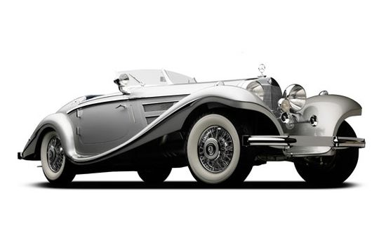 1937 Mercedes-Benz 540K Goes Under the Hammer At Monterey